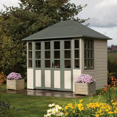 ROWLINSON CHATSWORTH SUMMER HOUSE in Honey Brown
