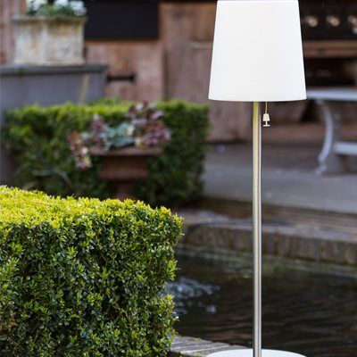 CHECKMATE PARK LED SOLAR GARDEN LAMP