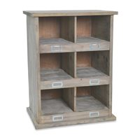 CHEDWORTH WOODEN SHOE RACK in 3 Sizes  12 Cubby Holes