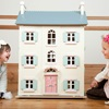 Le Toy Van Cherry Tree Hall Dolls House with 4 Storeys