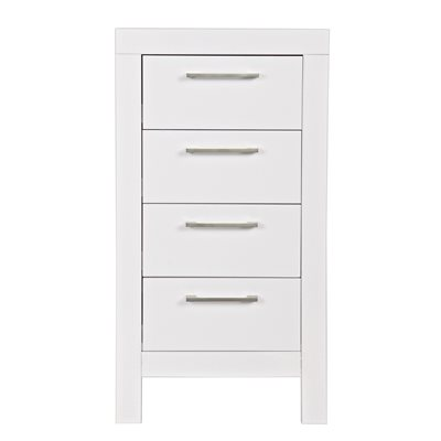 CHICAGO CHEST OF DRAWERS in White