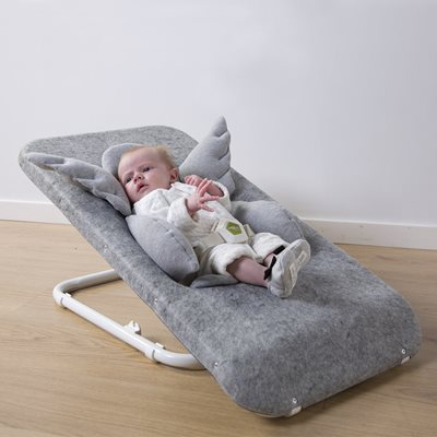 Baizy Baby Bouncer with Jersey Cover