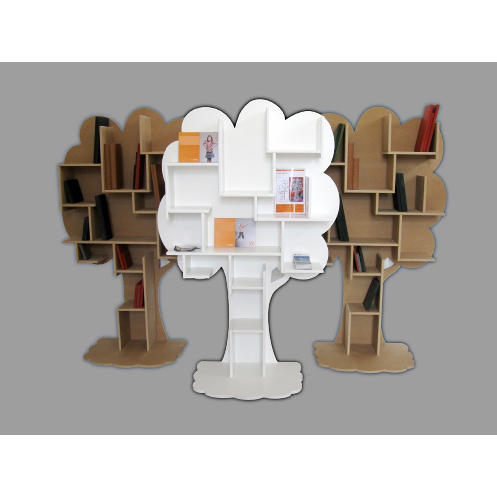 mathy by bols kids bookcase in tree design  kids bedroom  cuckooland -  childrensbedroomplayroomtreebookcase