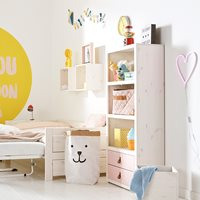 LIFETIME KIDS BOOKCASE WITH 3 SHELVES and Drawers