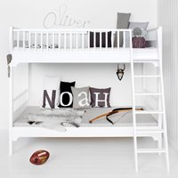 CHILDRENS SEASIDE BUNK BED in White