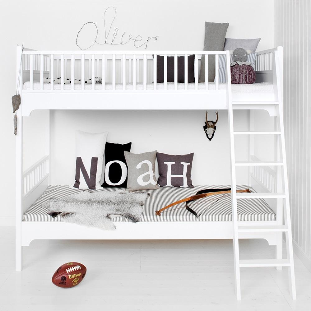Oliver Furniture Children S Seaside Bunk Bed With Slanted