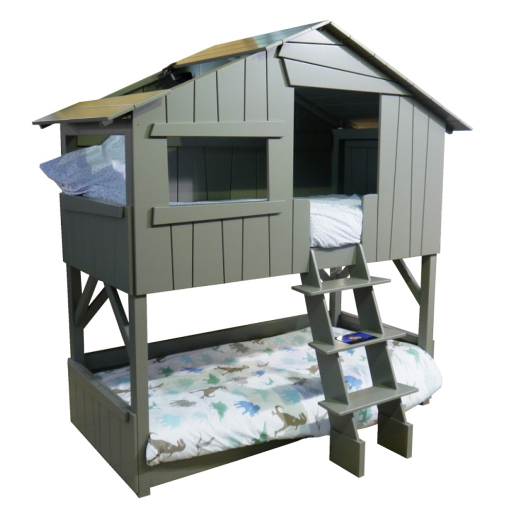 Mathy By Bols Kids Treehouse Bunkbed In Artichoke