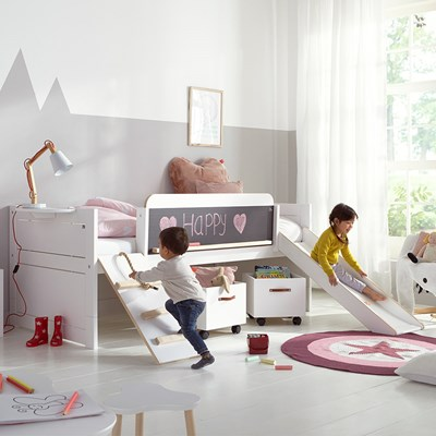 ... Childrens Cabin Bed With Slide ...