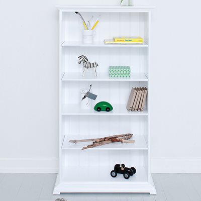 CHILDREN'S STORAGE CABINET WITH SHELVES in White