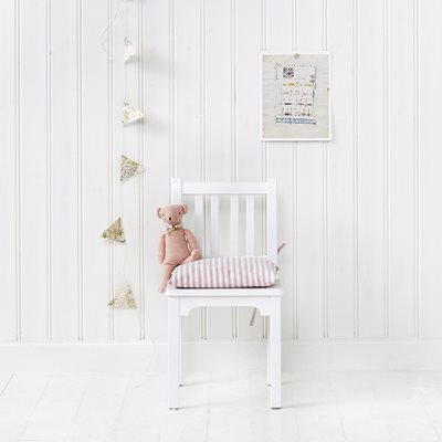 CHILDREN'S CHAIR in White