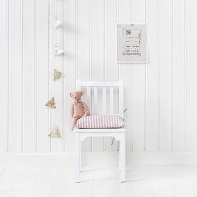 CHILDREN'S CHAIR in White
