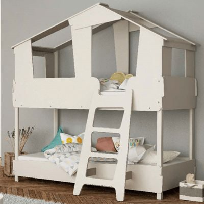 Kids Treehouse Bunk Bed by Flair Furnishings