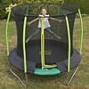Circular Garden Trampoline with Safety Guard