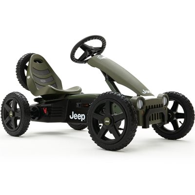 KIDS JEEP ADVENTURE PEDAL GO-KART