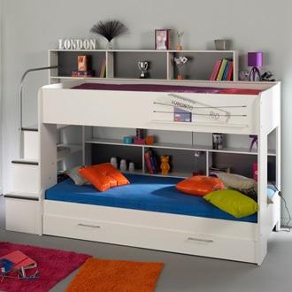 Parisot Kids Bebop Bunk Bed With Reversible Panels