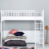Oliver Furniture High Loft Bed in White