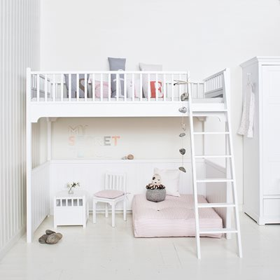 CHILDREN'S LUXURY LOFT BED in White