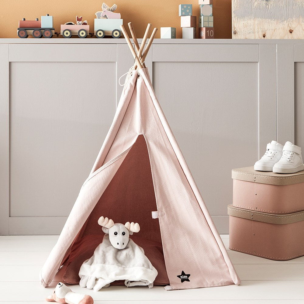 hot sale online 7bd17 2a6f9 Kids Concept Mini Teepee Play Tent in Pink
