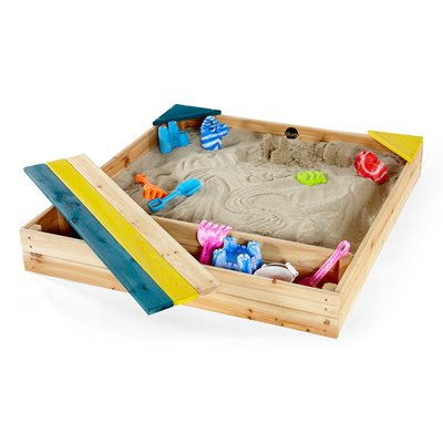 PLUM CHILDREN'S WOODEN SAND PIT with Storage