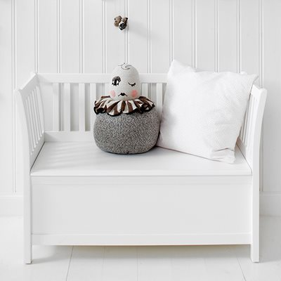 KIDS LUXURY STORAGE BENCH in White