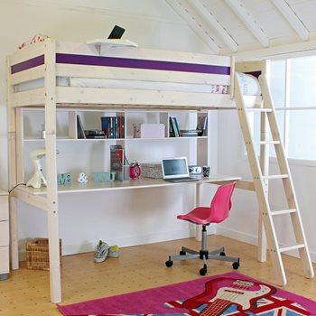 high sleeper beds loft beds for boys girls cuckooland. Black Bedroom Furniture Sets. Home Design Ideas