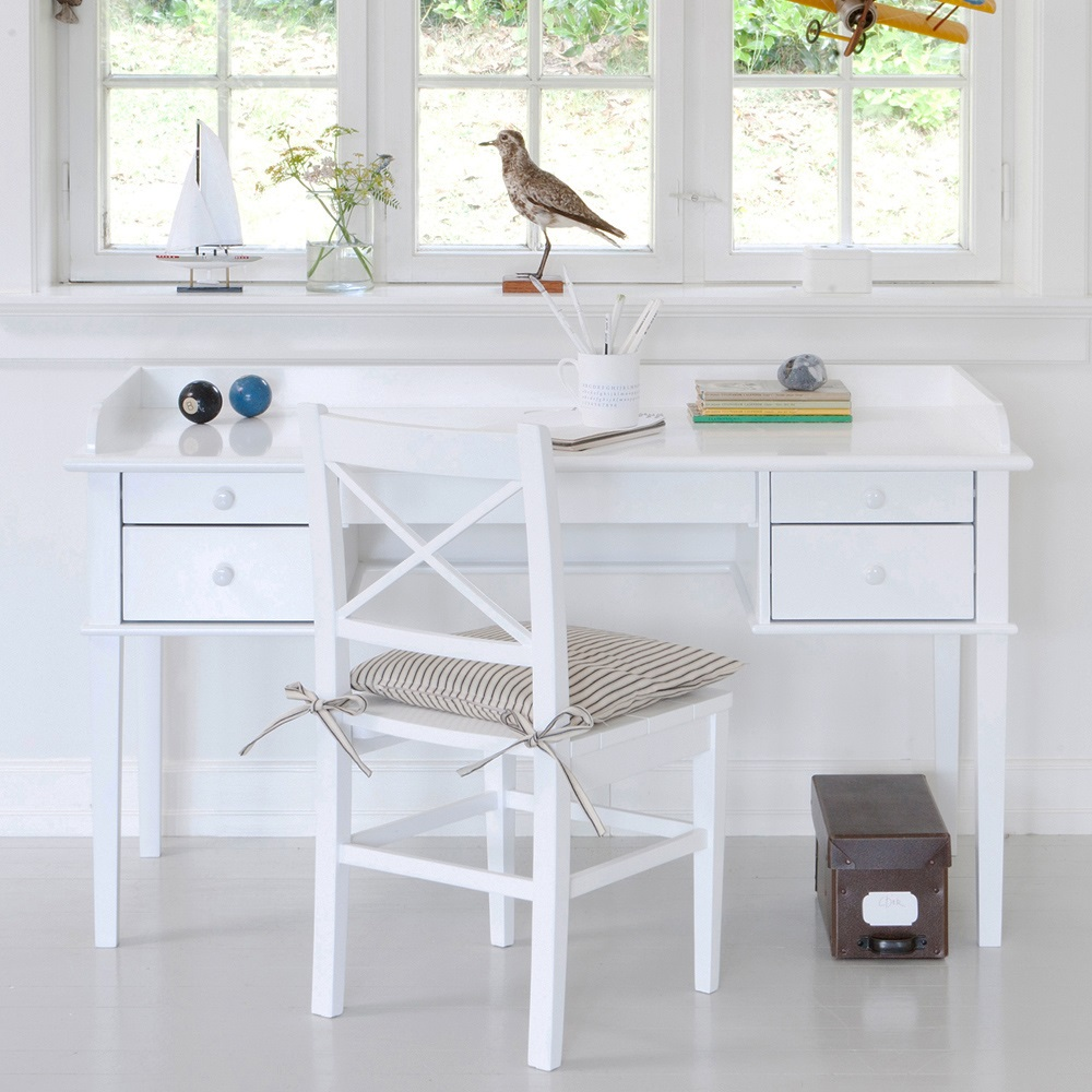 Childrens White Desk With Storage Oliver Furniture Web