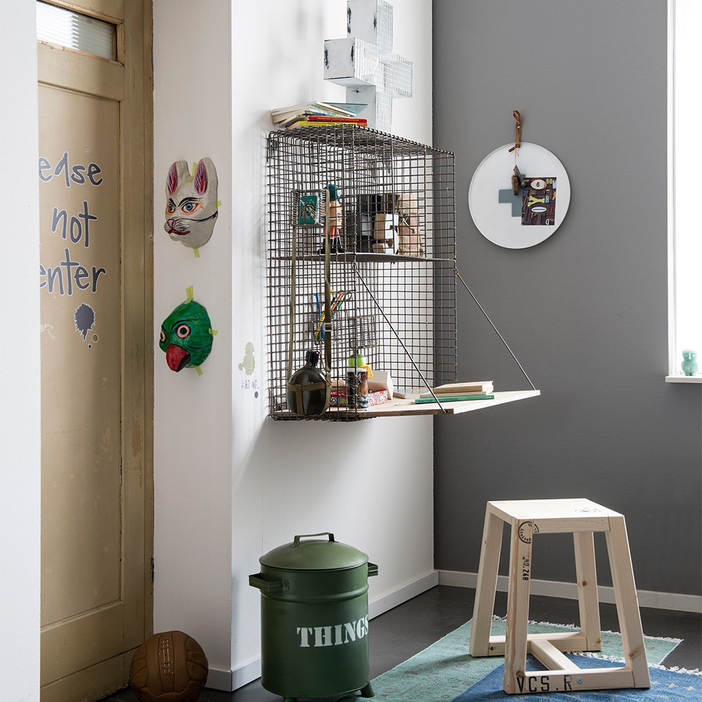 Childrens Wire Foldout Wall Desk Jpg