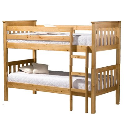 SEATTLE KIDS BUNK BED FRAME in Pine By Birlea