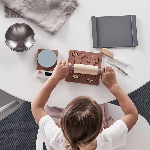 Children's Wooden Toy Baking Set and Accessories