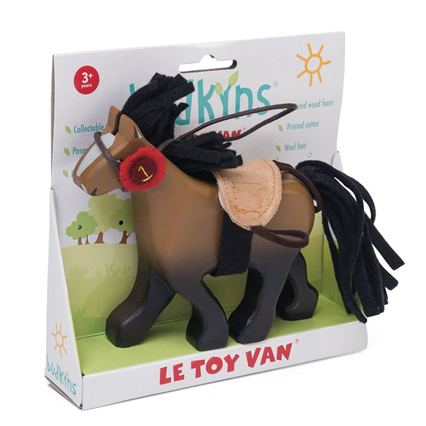 Le Toy Van Budkins Brown Horse Figure
