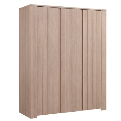 NATURELA 3 DOOR KIDS WARDROBE