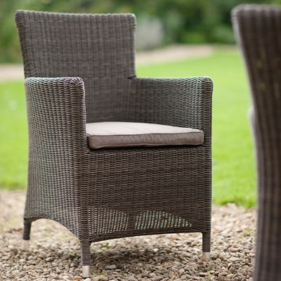 CHILGROVE GARDEN DINING CHAIR in Rattan