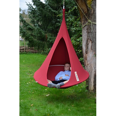 BONSAI CACOON KIDS HANGING CHAIR in Chili Red