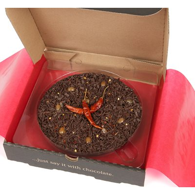 "7"" CHILLI PIZZA by The Gourmet Chocolate Pizza Company"
