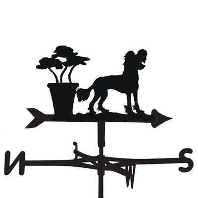 WEATHERVANE in Chinese Crested Design