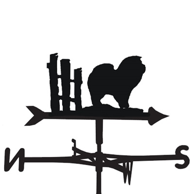 WEATHERVANE in Chow Dog Design