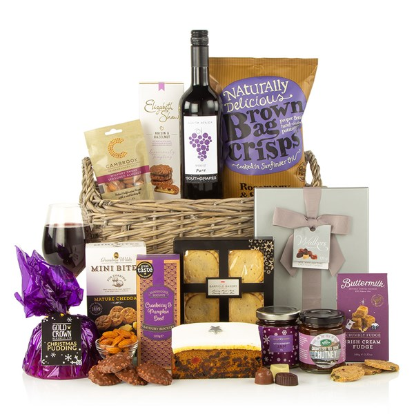 Christmas Cracker Luxury Gift Food Basket