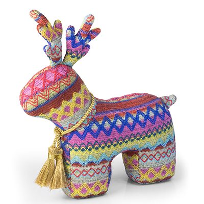 CHRISTMAS REINDEER Animal Doorstop