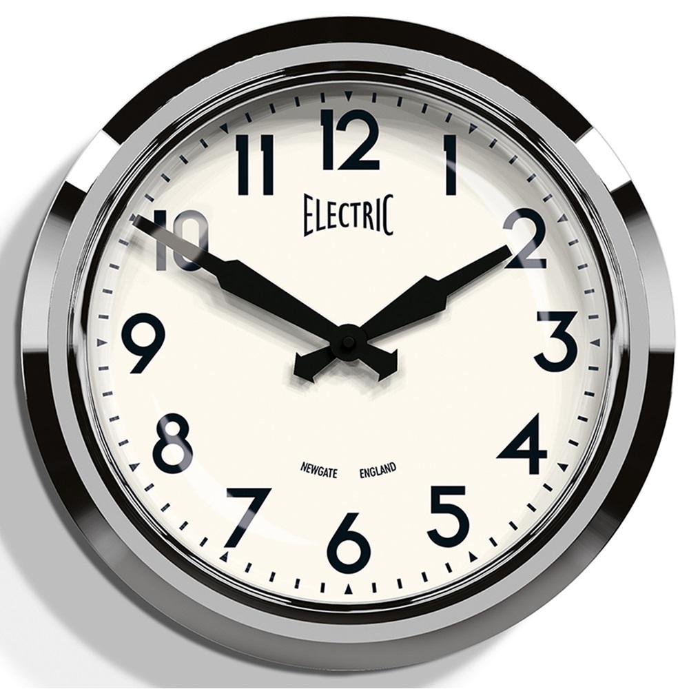 50 S Chrome Wall Clock Wall Clocks Cuckooland