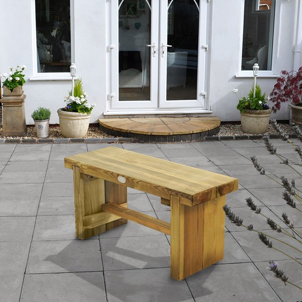 Forest Garden Double Sleeper Bench