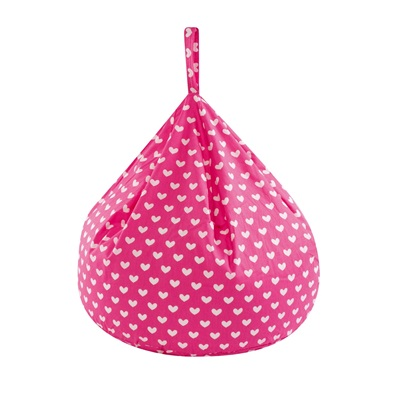 CHILDREN'S BEAN BAG with Removable Cover