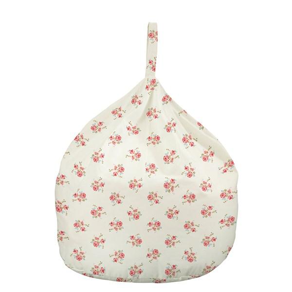 Kids or Small Bean Bag in Rose Print Design