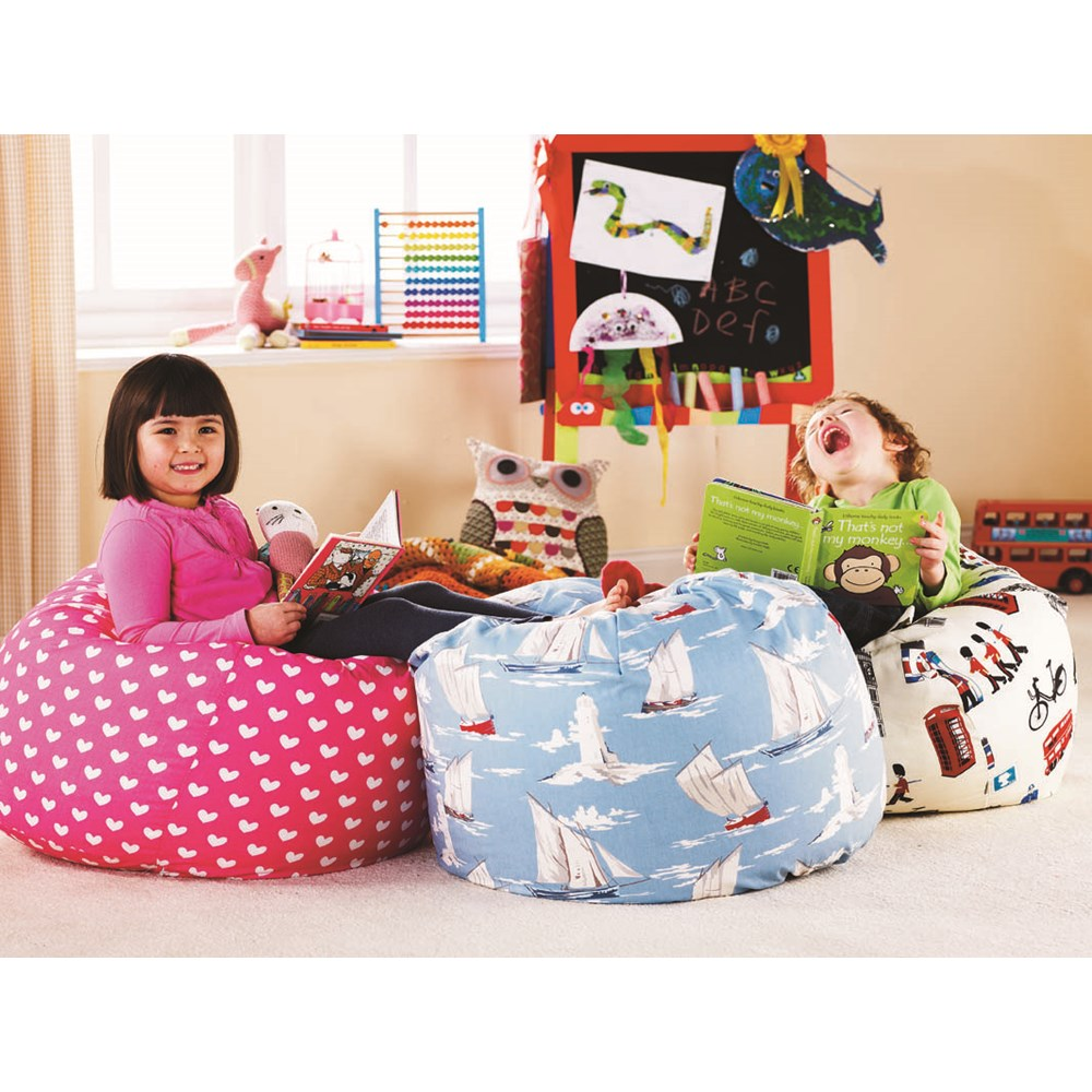 Children S Bean Bag With Washable Cover