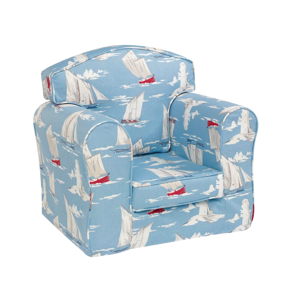 Children\'s Arm Chair With Removable Covers - Churchfield   Cuckooland