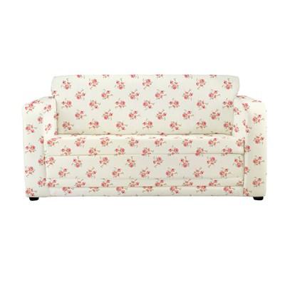 Childrens Sofa Bed in Rose Floral Design Kids Beds Cuckooland
