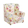 Childrens High Back Wing Chair