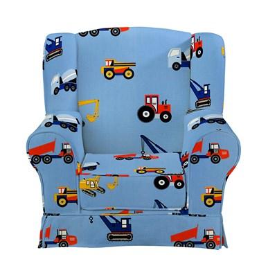 Churchfield Wing Chair Toy Trucks ...