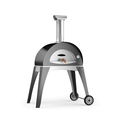 CIAO WOOD FIRED PIZZA OVEN in Grey