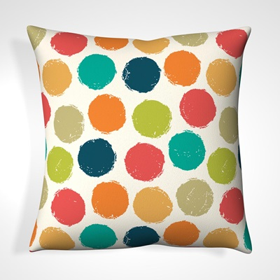 CUSHION in Spotted Design