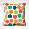 Bright Spotty Scatter Pillows For The Bedroom